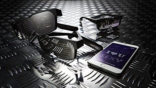 CHEMION-Las-gafas-nicas-de-LED-y-Bluetooth-Mostrar-Mensajes-Animaciones-y-Dibujos