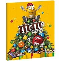 M&M's & Friends di Calendario Dell' Avvento Assortimento Misto, 1 Confezione