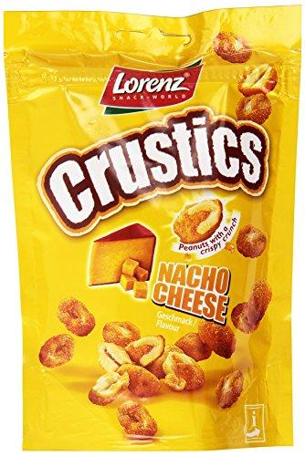 Lorenz - Crustics, Arachidi Ricoperti da una Crosta Croccante al Gusto di Fromaggio - 5 pezzi da 110 g [550 g]