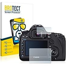 BROTECT AirGlass Protector Pantalla Cristal Flexible Transparente para Canon EOS 5D Mark III Protector Cristal Vidrio - Extra-Duro, Ultra-Ligero, Ultra-Claro
