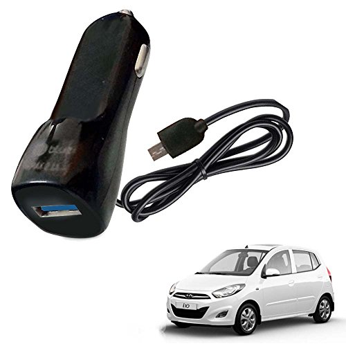 Vheelocityin Bluei 6 Month Warranty Car USB Charger Fast Charging USB Charger For Hyundai i10