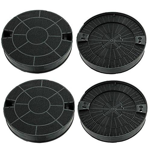spares2go Carbon Vent Extractor Filter für IKEA Dunstabzugshaube (Pack von 2oder 4) 4 Filters