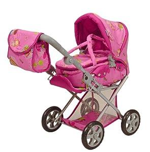 Knorr 63001 Pearly - Cochecito de bebé de Juguete, Color Rosa