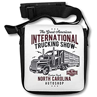 The Great American Trucking Show Nort Carolina Autoshop Schultertasche