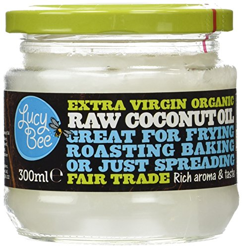 Lucy Bee Extra Virgin Fair Trade Organic Raw Coconut Oil 300ml (Grocery)