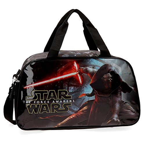 Star Wars The Force Awakens Bolsa de Viaje, Color Negro, 27.72 litros