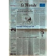 MONDE (LE) [No 15572] du 18/02/1995 - LES PROPOSITIONS DE FRANCOIS FILLON SUR LES IUT - HENRI EMMANUELLI ET ANDRE LAIGNEL EN CORRECTIONNELLE - LE MALAISE DE L'HOMME BLANC AUX ETATS-UNIS - LA PRESSE REGIONALE FACE AUX AFFAIRES - UN ENTRETIEN AVEC JEAN-PIERRE ELKABBACH - LA PAROLE ET LE SEXE - LES EDITORIAUX DU MONDE - LA CRISE MEXICAINE PROVOQUE UNE NOUVELLE TEMPETE MONETAIRE - L' ENNEMI INFORMATIQUE NUMERO UN PIEGE AUX ETATS-UNIS PAR SYLVIE KAUFFMANN - KOBE, LES GRANDS MY