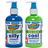 Trukid Silly Shampoo and Cool Conditioner Combo Pack Light Citrus 2 Count