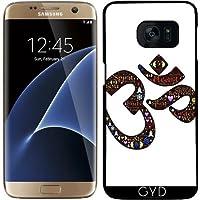 Custodia per Samsung Galaxy S7 Edge - Namaste Indù Indiano by WonderfulDreamPicture - Saluto Edge Design
