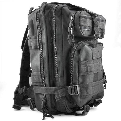 Imagen de sodial r 30l  militar tactica para senderismo campamento al aire libre  negro