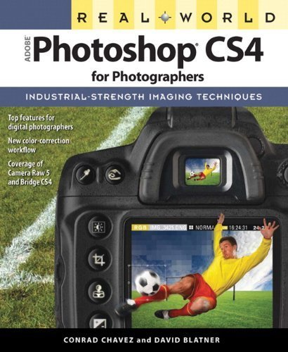 Real World Adobe Photoshop CS4 for Photographers by Chavez, Conrad, Blatner, David (2008) Paperback
