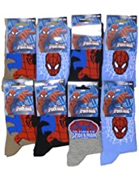 Lot de 4, 8, 12 Chaussettes SPIDER-MAN ULTIMATE Assortie !!