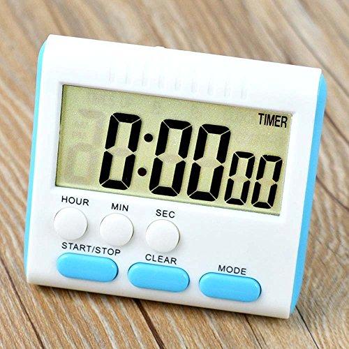 Reloj electrónico de cocina con temporizador
