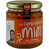 Les Compagnons du Miel - Miel d'Oranger de Valencia - Pot verre 375g - Liquide