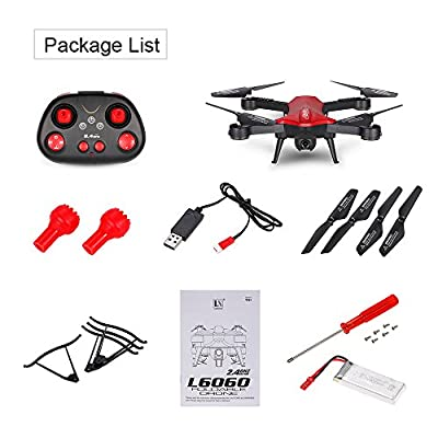 POBD RC Drone Foldable Wifi FPV VR Quadcopter with 2MP HD Camera 2.4Ghz 6-Axis Gyro 4CH Remote Control Helicopter