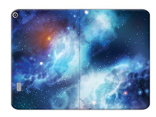 etuo Huawei MediaPad T3 7 - Hülle Flex Book Fantastic - Kosmos - Tablethülle Schutzhülle Etui Case Cover Tasche für Tablet