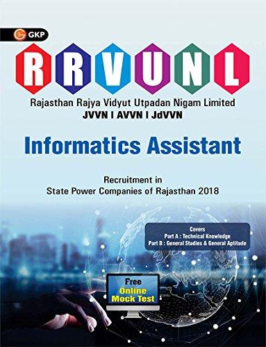 Rajasthan (RVUNL) Informatics Assistant