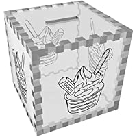 Preisvergleich für Azeeda 'Eis' Klar Sparbüchse / Spardose (MB00064659)