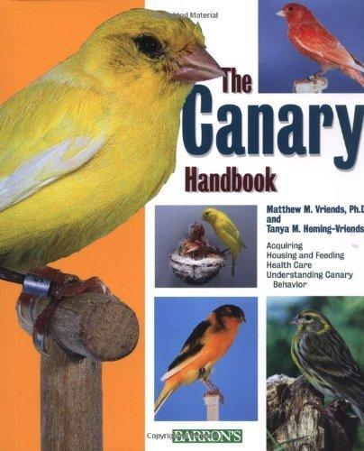 the-canary-handbook-by-matthew-m-vriends-2001-09-01