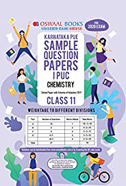 Oswaal Karnataka PUE Sample Question Papers I PUC Class 11 Chemistry Book (March 2020 Exam)