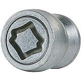 Farad 1-AD1/E STAR LOCK 1CH Starlock Antivol de roues auto avec serrage à écrou, Lot de 4 et 1 clé