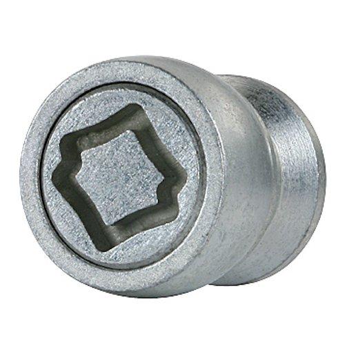 Farad 1-HA/E Star Lock 1CH Kode HA/E Felgenschloss mit Befestigungsmuttern für Autos