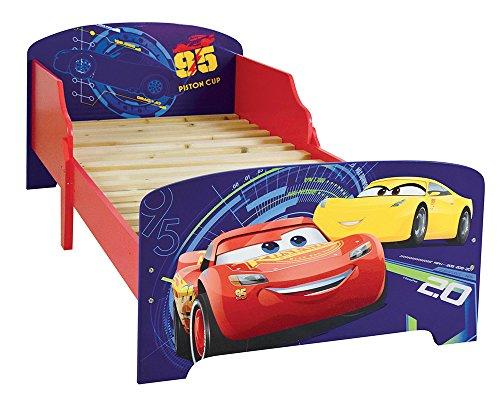 Achat FUN HOUSE 712761 Cars Lit pour Enfant MDF 140x70x59 cm
