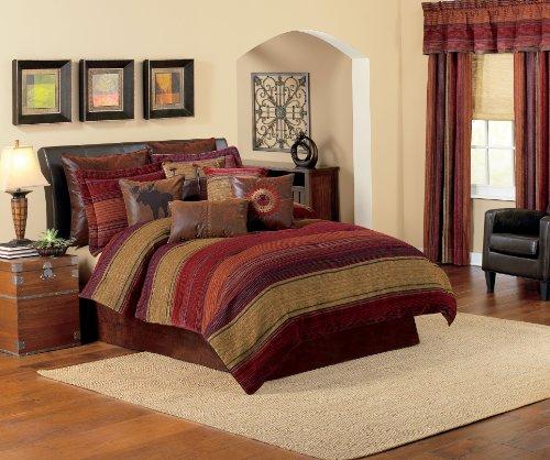 Croscill Plateau Comforter Set, WC King, Multi by Croscill (Bedding King Croscill)