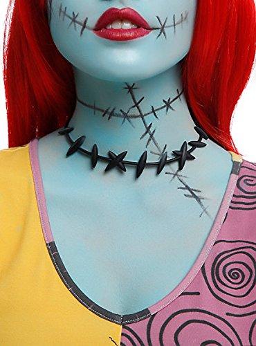 """Halskette von Sally Stitches aus Disneys """"The Nightmare Before Christmas"""" zum Verkleiden"""