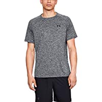 Under Armour Men's UA Tech 2.0 Ss T-Shirt, Black, Large