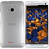 mumbi SchutzHülle HTC One Hülle (harte Rückseite) transparent (NICHT HTC One M8)