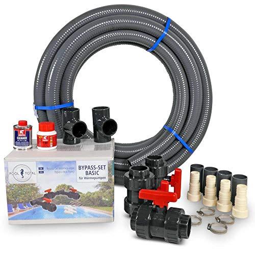 POOL Total Bypass-Set Complete für Wärmepumpen - Bypass Kit