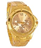 TRUE COLORS Analog Gold Dial Men's Watch...