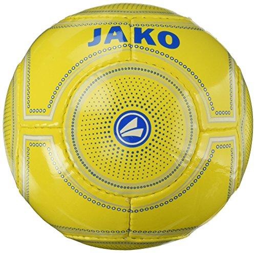 JAKO Miniball-14 Panel Handgenäht Miniball, gelb blau, 1