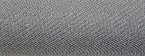 Ch.Cabanski Auto Diagonal Polsterstoff mit 3 mm Schaum & Unterware Meterware (Grey) -