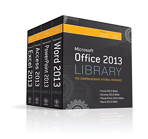 [(Office 2013 Library Excel 2013 Bible, Access 2013 Bible, PowerPoint 2013 Bible, Word 2013 Bible)] [By (author) Lisa A. Bucki] published on (July, 2013)