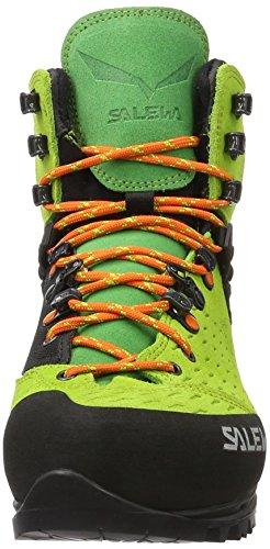 Salewa Vultur Gore-Tex Bergschuh, Chaussures de Trekking et Randonnée Mixte Adulte Vert (Cactus/arancio 5323)