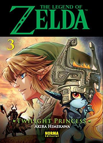 Portada del libro The Legend of Zelda: Twilight Princess 03