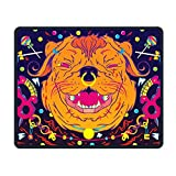 Mouse Pad Colorful Lollipop Dog Smooth Nice Personality Design Mobile Gaming Mouse Pad Work Mouse Pad Office Pad
