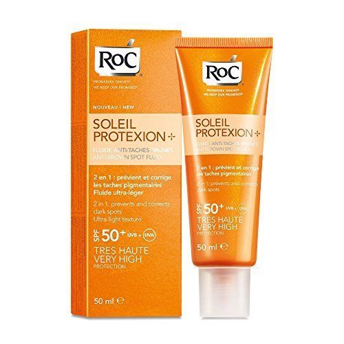 RoC Soleil Protect - Fluido Viso Anti-Macchie Brun