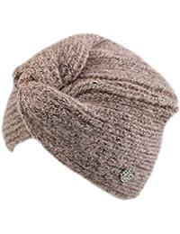 GIANMARCO VENTURI Cappello donna 100% acrilico cuffia a maglia in box 71796  pin 8ad763db0800