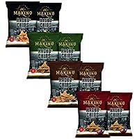 MAKINO Nachos Combo Jalapeno, Sweet Chilli,Salasa and Cheese 60gms