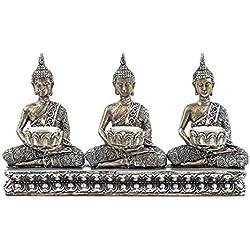 Portavelas Buda Padma