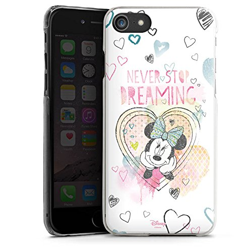 Apple iPhone 7 Plus Tasche Hülle Flip Case Disney Minnie Mouse Fanartikel Geschenke Hard Case transparent