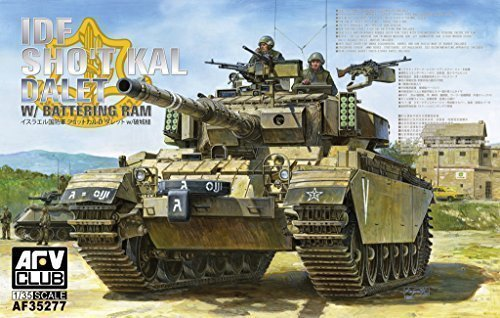 AFV Club 1 35 IDF Centurion Sho t Kal Dalet with Battering Ram AF35277 by AFV Club