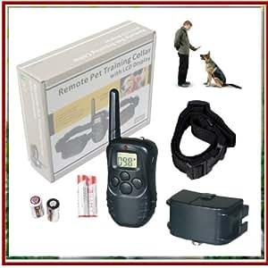 collier de dressage chiens option vibration ou electrique ecran lcd animalerie. Black Bedroom Furniture Sets. Home Design Ideas