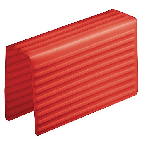 InterDesign - Lineo - Alforja para fregadero - Rojo