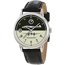 Classic Messerschmitt Bf-110 Luftwaffe WW-II Night-Fighter Bomber Aircraft Collectible Wrist Watch ...