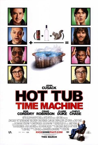 Hot Tub Time Machine - style A Movie Poster (27,94 x 43,18 cm) Hot Tub Time Machine-poster