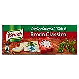 Knorr - Naturalmente Classico, Senza Conservanti, Coloranti E Grassi Idrogenati -12 dadi